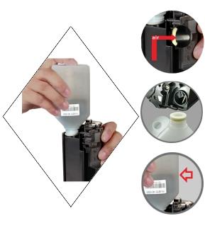 HP CF283A Toner Refill LaserJet Pro M125
